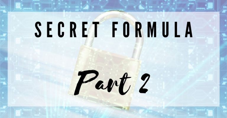 Secret Formula Part 2 Dream Customers