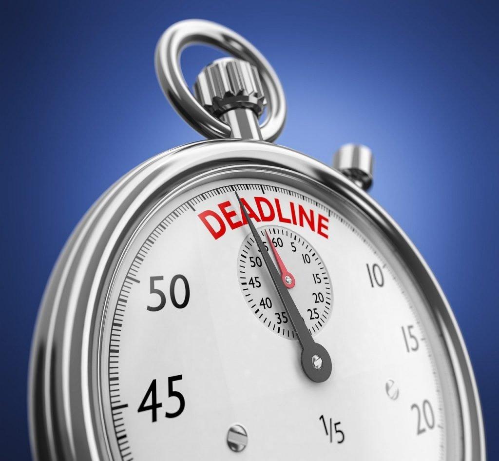 limited time deadline
