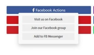 Facebook Sweepstakes Actions Options