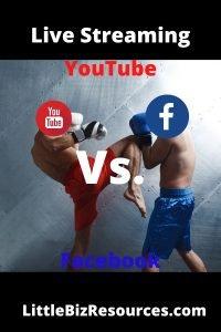 Live Stream YouTube vs Facebook