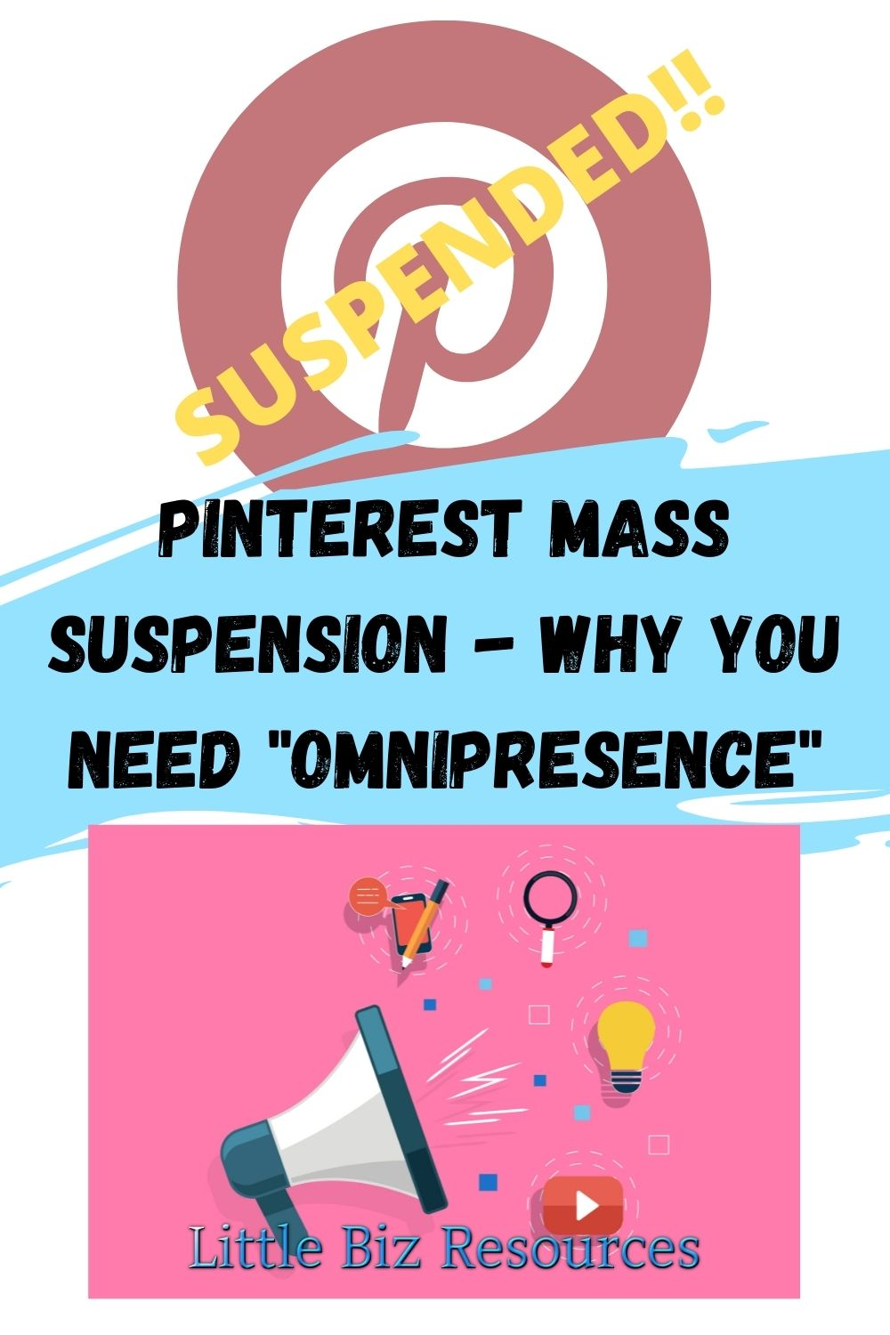 Pinterest mass Suspension why you need omnipresence