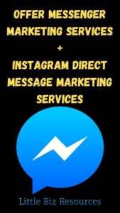 Offer Messenger & Instagram Marketing Services - Learn and Start Selling in 24 Hours or Less