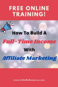 how to build a full time income
